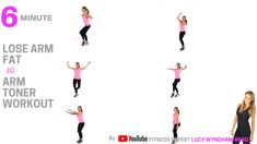 LOSE ARM FAT AND TONE YOUR ARMS IN 6 MINUTES WITH THIS QUICK HOME WORKOUT - NO EQUIPMENT NEEDED - FOR MORE WORKOUTS HEAD TO MY WEBSITE LWRFITNESS.COM AND MY YOUTUBE CHANNEL