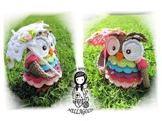 Crochet PATTERN 31 - Collectors item  02 Dreesy Owl it's $5.77 on Etsy..But I want it!!!!!!