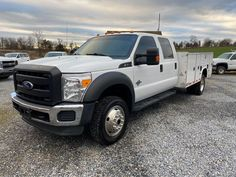 2014 Ford F-450 Crew Cab 4x4 Diesel Utility Truck. 6.7L V8 Diesel Engine, Automatic Transmission, 10ft Knapehide Utility Body, Tow Package, Power Windows, Power Door Locks, A/C, Tilt/Cruise, 162k Miles. One Owner Fleet Maintained. Call JT Auto Sales 717-619-7204, Call/Text 410-596-0596 www.yourtrucksforsale.com