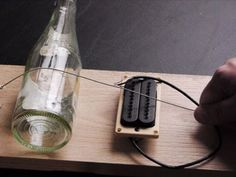 ▶ Build a Simple Electric Guitar in 10 minutes (Diddley Bow) - YouTube