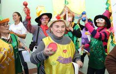 Festejo por el aniversario de los Centros de día en Puerto Pibes.
