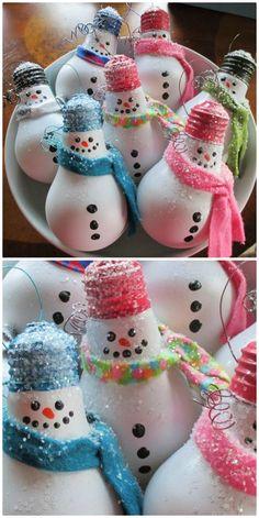 Popular Christmas Craft Ideas To Try Christmas Crafts For Adults, Christmas Crafts To Make, Christmas Ornament Crafts, Christmas Deco, Homemade Christmas, Kids Christmas, Pinterest Christmas Crafts, Christmas Fair Ideas, Christmas Trees