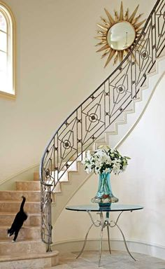Elegant entry designed by Mary Anne Smiley.