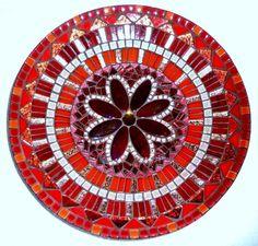 Mozaiek Lagarto - Mozaïekpakket Schaal 30 cm (model 2) Love the centerpiece
