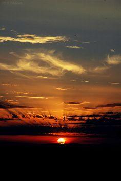 Sunset in Monteriggioni, Tuscany, 2014.