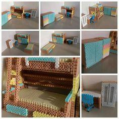 ♡ 3d Perler Bead, Diy Perler Beads, Hama Beads Patterns, Beading Patterns, Hamma Beads Ideas, Hama Art, Peler Beads, Beads Pictures, Iron Beads