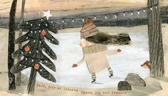 Christmas 2014 on Behance bi Manon Gauthier