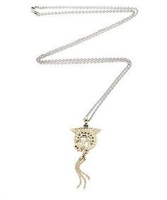 Saphira dragon necklace in gold by DYRBERG/KERN on secretsales.com