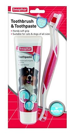 Dog Toothpaste And Toothbrush Kit Puppy Teeth Cleaning Dental Care Brush UK Flavored Toothpaste, Dog Toothpaste, Dog Mints, Tartar Removal, Gum Health, Cat Dog, Teeth Care, Venezuela