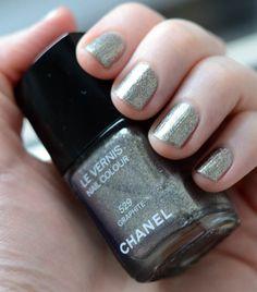 Chanel Graphite nail polish..ooh.