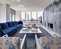 ORA studio conceives UN plaza duplex apartment in new york