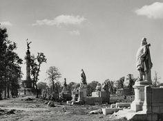 Hein Gorny: Siegesallee, Tiergarten, Berlin 1945 - 1946