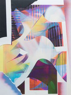 RAPHAEL BORER AND LUKAS OBERER - COLLAGE VIII - ARTSTÜBLI  http://www.widewalls.ch/artwork/raphael-borer-and-lukas-oberer/collage-viii/ #painting