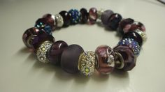 Check out this item in my Etsy shop https://www.etsy.com/es/listing/258562519/bracelet-murano-bracelet-lampwork