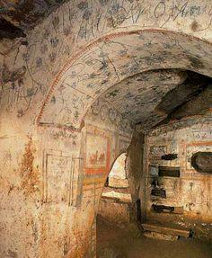 Catacombe di domitilla Roma