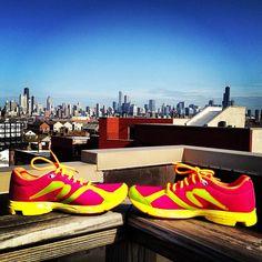 @therunnerfly's photo: I run this city. #Chicago #newtonrunning #werunchi