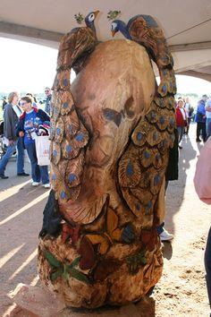 2008 ECHO Chain Saw Carving Series Chain Saw Art | ECHO USA