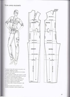 Clothing Patterns, Dress Patterns, Sewing Patterns, Jumpsuit Pattern, Pants Pattern, Bodice Pattern, Pattern Cutting, Pattern Making, Sewing Dress