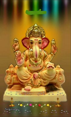 Here,is the list of 108 Names of Lord Ganesha in Sanskrit with meaning. Many of these Lord Ganesha names are suitable for baby names for both boys and girls Jai Ganesh, Ganesh Idol, Ganesh Statue, Shree Ganesh, Ganesha Art, Ganesh Wallpaper, Lord Shiva Hd Wallpaper, Lord Ganesha Names, Ganesh Lord