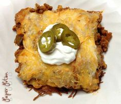Low carb Taco bake