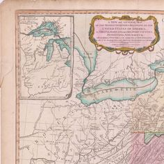 A new and general map of the middle dominions belonging to the United States of America : viz. Virginia, Maryland, the Delaware-Counties, Pennsylvania, New Jersey &c. with the addition of New York, &c of the greatest part of New England &c. as also of the bordering parts of the British possessions in Canada :: Maps