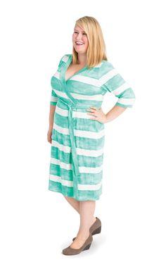 Plus size dress sewing pattern