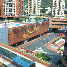 Sha Tin  New Town Plaza.  So many memories shopping here.