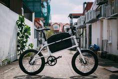 coast cycles unveils quinn cargo bike at SingaPlural 2015