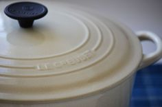 Enameled cast iron cookware. A favorite.
