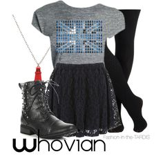 """""""whovian"""" by wishingadream on Polyvore"""