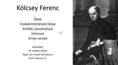 Kölcsey Ferenc élete, munkássága, Himnusz - Irodalom 10. osztály VIDEÓ - Kalauzoló - Online tanulás Memes, Meme
