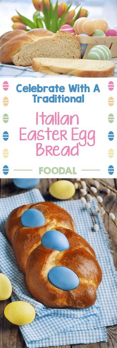 Italian Braided Easter Egg Bread is a fun twist (pun intended) on the standard breakfast or afternoon feast, a satisfying traditional recipe to try out even if you aren't Italian. Bright and colorful eggs are enveloped in a deliciously sweet dough, making for a beautiful edible centerpiece.