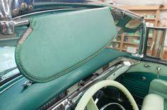 1956 Buick Roadmaster Convertible - Original Sun Visors - Before - LeBaron Bonney Company: www.lebaronbonney.com (5)