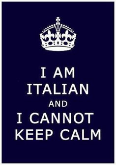 So there for I must comfort eat. Also because i am Italian.