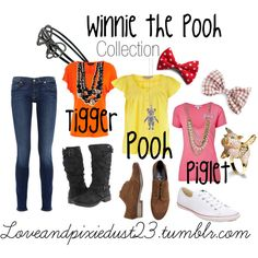 """""""Winnie the Pooh"""" by loveandpixiedust on Polyvore"""