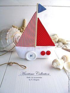 Купить Морячка - игрушка - зайка, игрушка зайка, заяц текстильный, авторская ручная работа