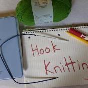 Hook Knitting - via @Craftsy