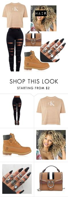 """Marvins room"" by prxncessjay on Polyvore featuring Calvin Klein and Timberland"