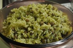 Moro de Guandules - Rice and Green Pigeon Peas | Love Cook Shoot By me!