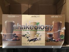Health And Fitness: Beachbody Shakeology Brista Chocolate Vanilla Cafe Latte Weight Loss Workout New BUY IT NOW ONLY: $120.0