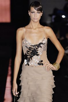 Giorgio Armani at Milan Fashion Week Spring 2006