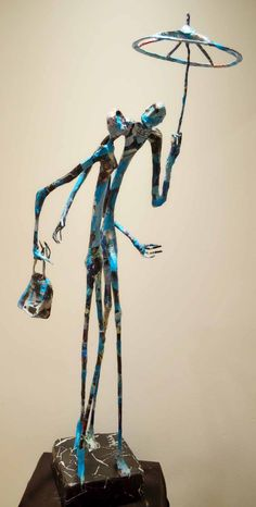 Awesome Unique Sculptures of Metal and Paper by Jean-François Glabik [ 70 Sculptures], http://itcolossal.com/awesome-paper-sculptures-jeanfranois-glabik/