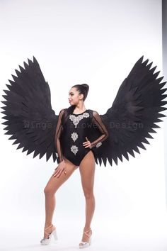 Black Angel Wings, Ballet Skirt, Trending Outfits, Vintage, Etsy, Fashion, Moda, Tutu, Fashion Styles