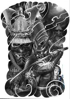 Japanese Forearm Tattoo, Japanese Tattoos For Men, Japanese Tattoo Designs, Japanese Tattoo Art, Samurai Tattoo Sleeve, Egyptian Tattoo Sleeve, Tattoo Sleeve Designs, Sleeve Tattoos, Indian Skull Tattoos