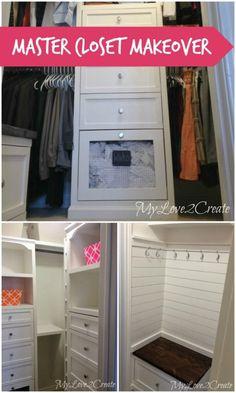 Amazing DIY Master Closet Renovation
