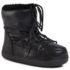 Pantofi DEEZEE – WS19002-02 Black Partner, All Black Sneakers, Combat Boots, Winter, Shoes, Fashion, Snow Boots, Keep Running, Winter Time