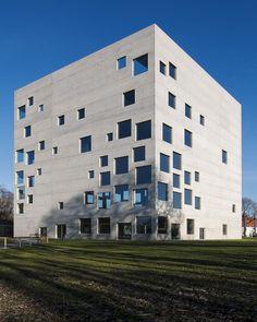 Zollverein School for Management and Design by Ryue Nishizawa, Kazuyo Sejima