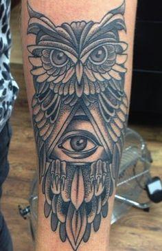 Illuminati Minerva's owl