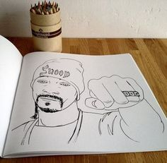 That's Whats Up Hip Hop Coloring Book. #MUSIC
