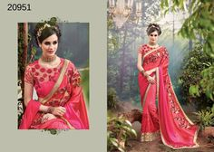 Pakistani Partywear Saree Wedding Bollywood Indian Ethnic Dress Sari Designer #TanishiFashion #DesignerSaree